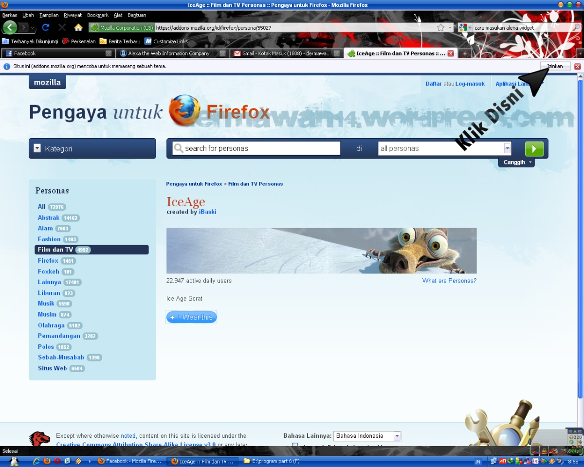 gambar klik
